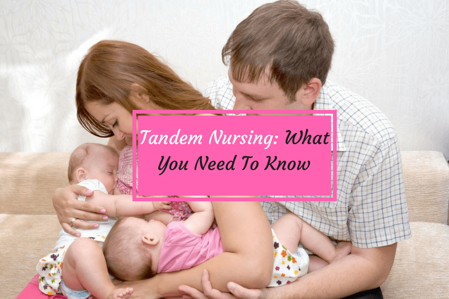 family with tandem nursing kids