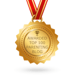 top 100 parenting blog badge