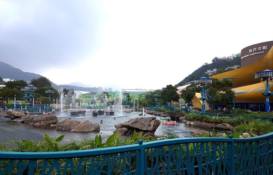 ocean park entrance image