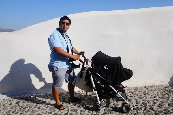 travel with stroller