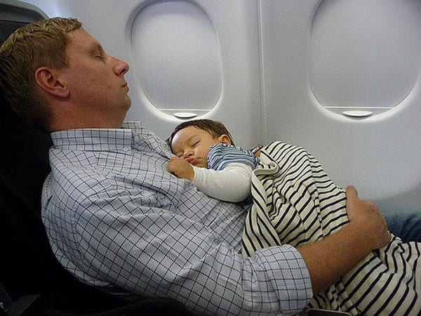 airplane travel with a baby