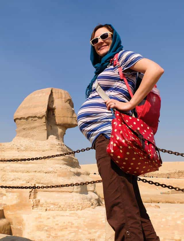 traveling abroad while 7 months pregnant