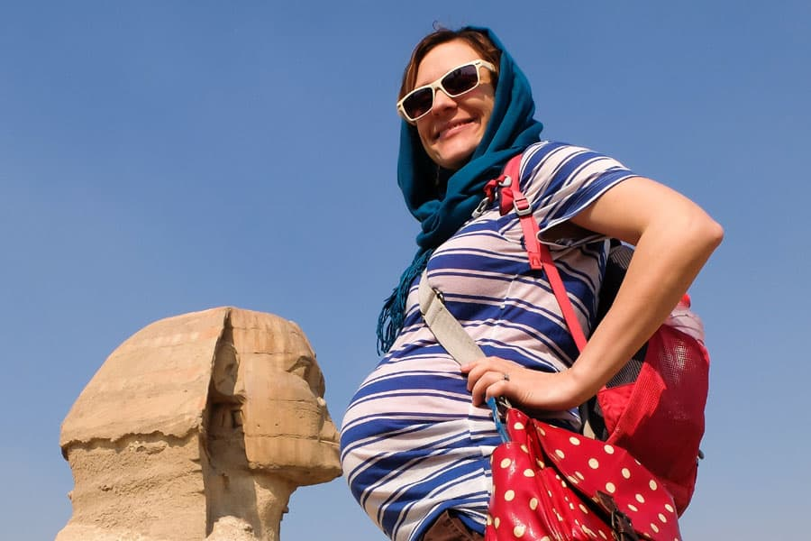 traveling abroad while pregnant