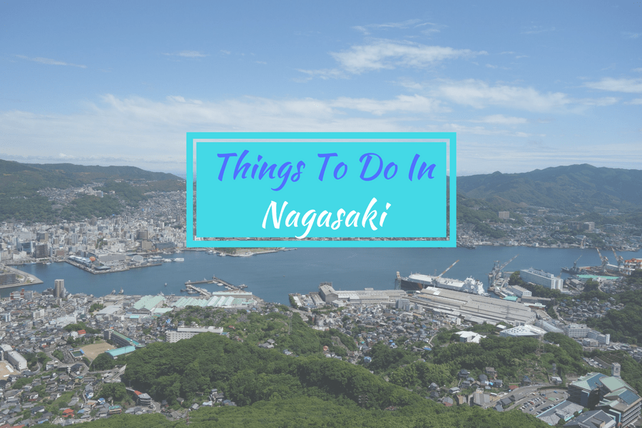 the city of Nagasaki