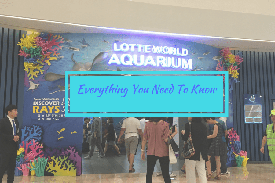 korea lotte world aquarium header
