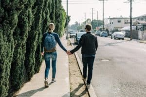 pixabay couple holding hands