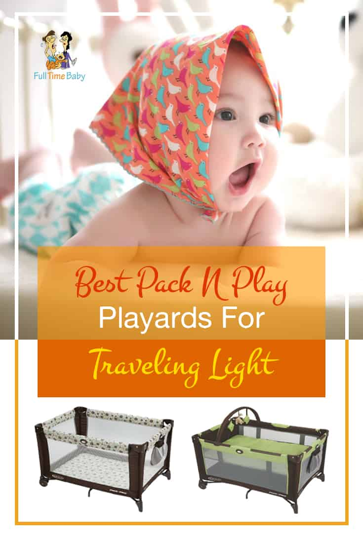 Best Pack N Play Playards For Traveling Light pin