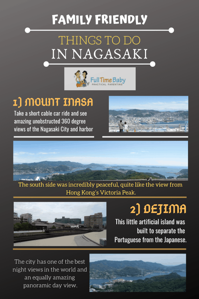nagasaki things to do infographic