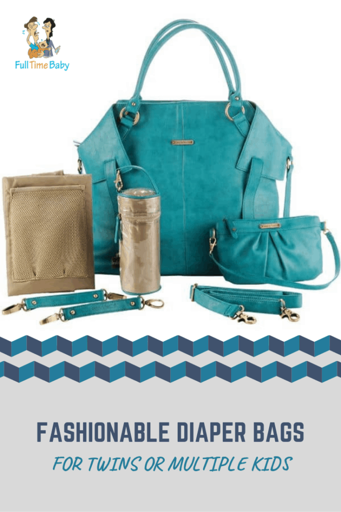 fashionable diaper bags for multiple kids