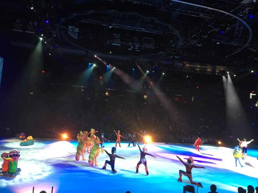 disney on ice several characters