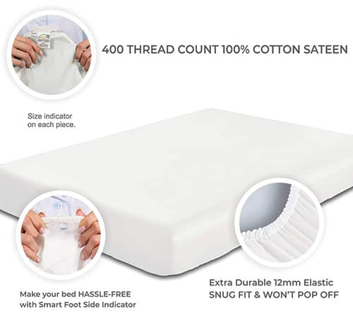 thread count bed sheets