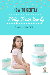 how to gently potty train early