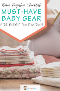baby registry first time moms