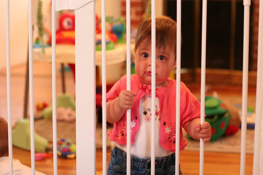 best baby play yard gate