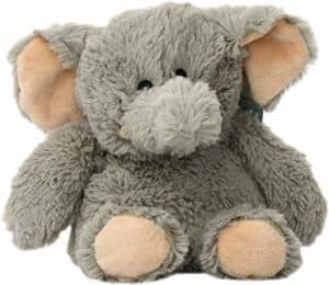 warmies microwavable french lavender plush toy elephant